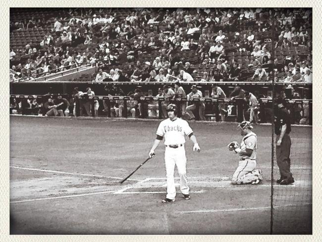 Black And White Baseball Street Photography Strike Out Go DBacks!!