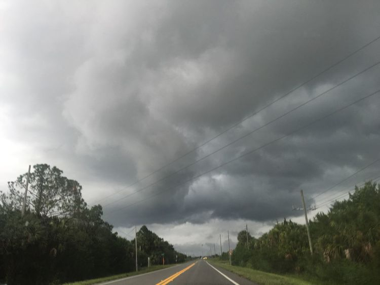 TS Hermine is coming Tropical Storm Storm Cloud Florida Clouds Storm Approaching