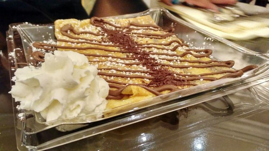 Food Foodgasm Chocolate Crepe Crepes For Dessert Dessert