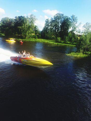 Pokerrun in Runn Powerboats Boats Fun