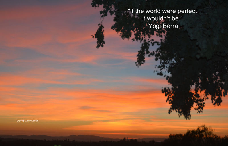 Today we celebrate the birthday of that great #American #philosopher #YogiBerra, who is always quotable. This #quote of his appears with a recent #sunset here in #Fallbrook. If this #quotograph speaks to you, please #repost it. Fallbrook, CA Yogi Berra Beauty In Nature Quote Quotograph Scenics - Nature Sunset