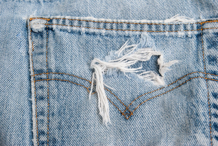 Blue denim jeans texture. Blue Casual Clothing Close-up Clothing Cotton Denim Fashion Full Frame Garment Jeans Material Pattern Pocket  Textile Textured