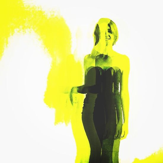 Andy Warhol Velvet Underground Yellow WIWT Decim8 Dress One Person White Background Tall Dresses Silhouette Ootd Scotland