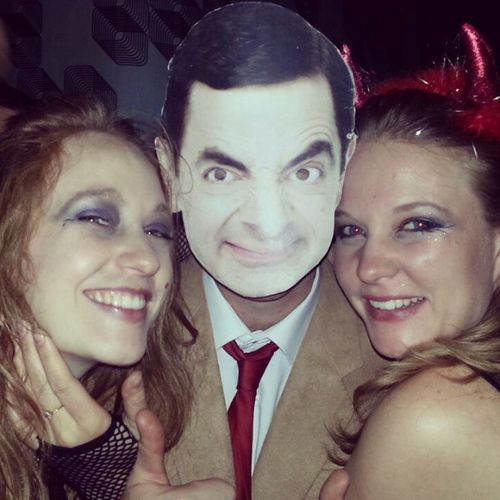 My sisters and me Partying it up in Greenside last night. What an Epic night. Halloween mrbean witch devil bean fun
