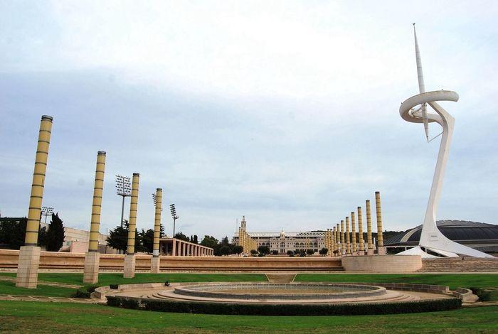 Olympic Stadium Parque  Espacios
