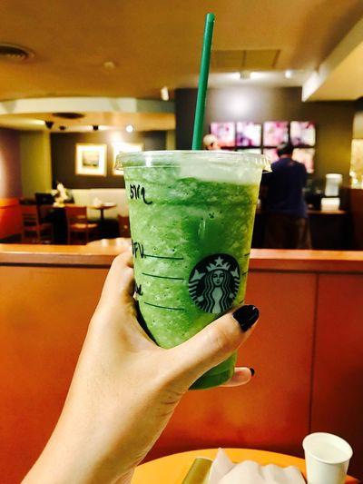 😍 ดีต่อใจ งานโหลดต้องมา Green Tea Frappuccino  Non Fat Sugar Free