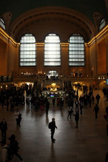 Waiting for the Train. Grand Central Station New York Great Architecture