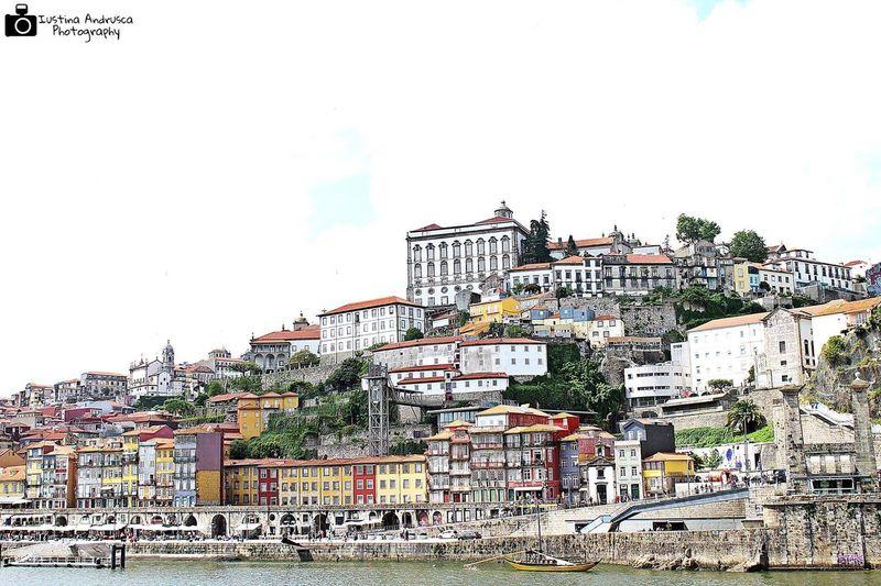 Amazing View Amazing Architecure City Porto _Portugal Colorful