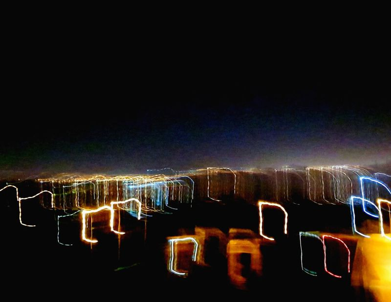 Light Cityscape Light Art No Person Light And Shadow Light And Dark Light Distortion Light Movement Capture Tomorrow