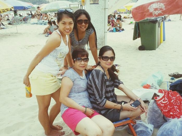 @ Shek O Beach With Family & Friends