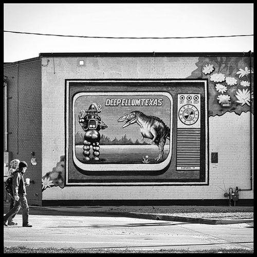 Deepellum Dallas Texas mural Mural Dallas