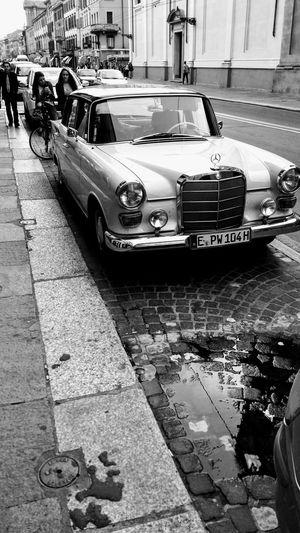 Mercedes Parma Vintage Car Land Vehicle Transportation Street Mode Of Transport Day Outdoors