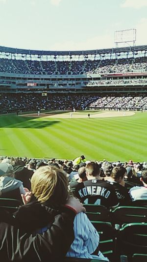 Pretty decent seats Chicago White Sox Hanging Out