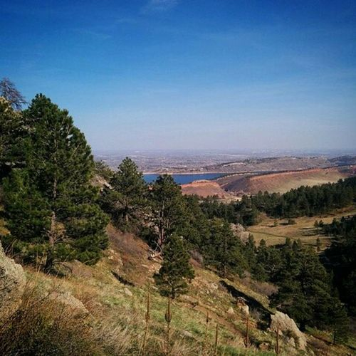 Today, a year ago. Jetlag Hiking in Fortcollins Colorado