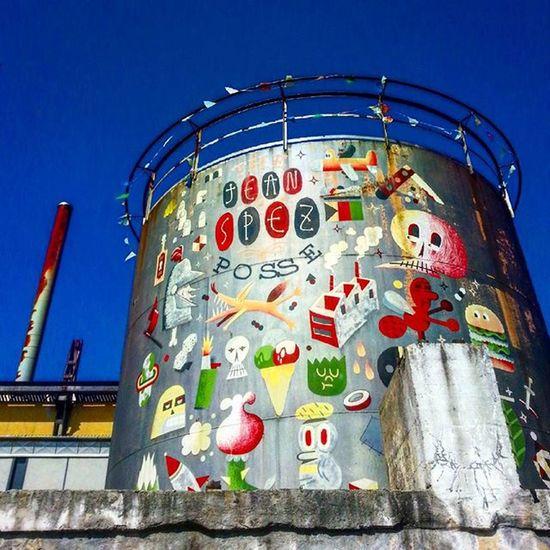 Munich Architecture Building Sky Sunnyday Kesselhaus Graffiti