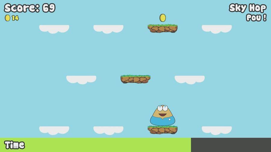 Pou :D Playing Pou :)