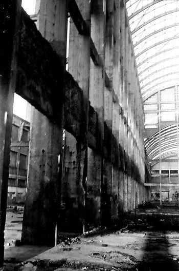 Outdoors Architecture Ruina Cidade Construcciones  UsinaSaltoGrandeAmericanaSP PhotographyP&B