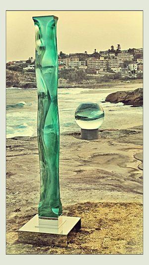 Dusk.....Sculpturesbythesea2013