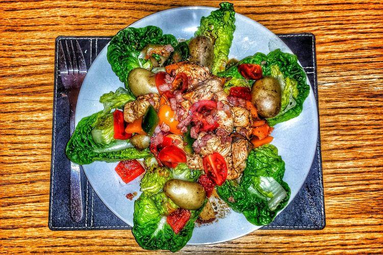 Warm Chicken Salad My Dinner