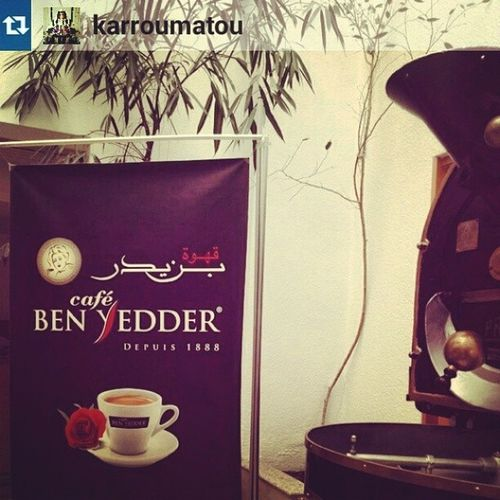 A special ShoutOut for @karroumatou ! Cafesbenyedder Repost Instacoffe igerstunisia igers