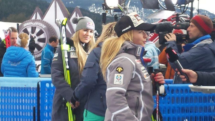 Women Who Inspire You Skiing Ski Lindsey Vonn Lara Gut