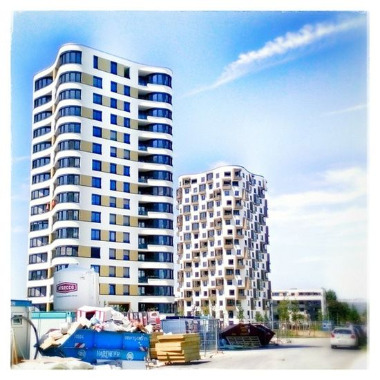 Siemenswerke Munich Southtower Snapseed Architecture München Urban Architecture