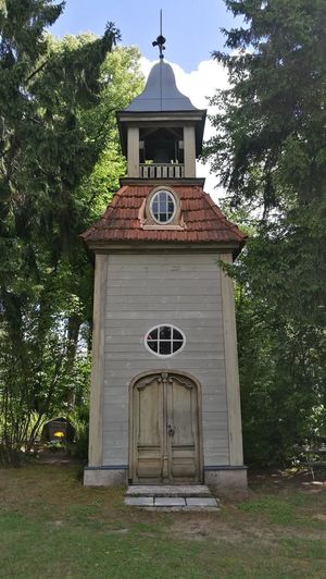 Fine Art Photography Old Building  Cemetery Chapel Wood Chapel Cemetry Tower Meža kapi