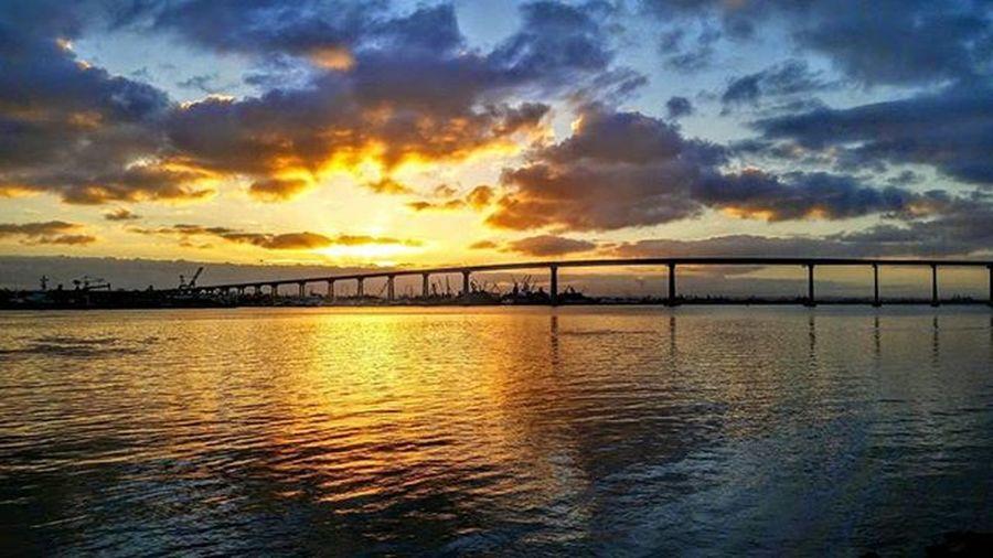 Coronadobeachsandiegoca , Coronadobridge , Sunrise , sunlight, Samsungmobileusa