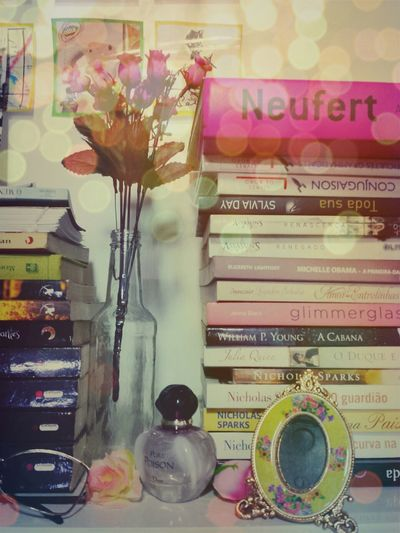 My Place Pure Poison Smellsdelicious Flowers Pink Pink Rose Decoration Books Lovely