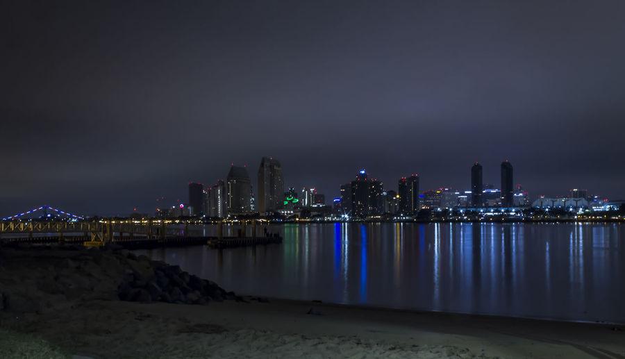 night shot from