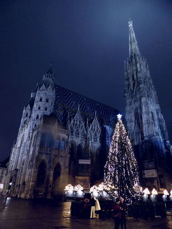 For My Friends 😍😘🎁 Colors Are My Life😍 Vienna's Calling😍😎Christmas Christmas Lights Cold Temperature Night nightshot Christmas Decoration Celebrate The Moment 'cause The Moment Is Your Life Tranquility Beauty In December😍 Perfect Day With A Friend Illuminated Stephansdom Wien In The Backround