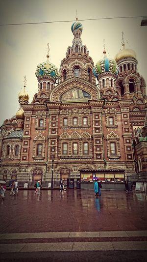 Piter ❤️ Rain Spas Na Krovi Holidays I Love This City!