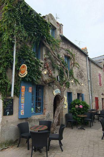 Architecture Bar Breizh Bretagne Building Exterior City Life Outdoors Outside Piriac Piriac-sur-mer Street Street Photography Streetphotography Tourism