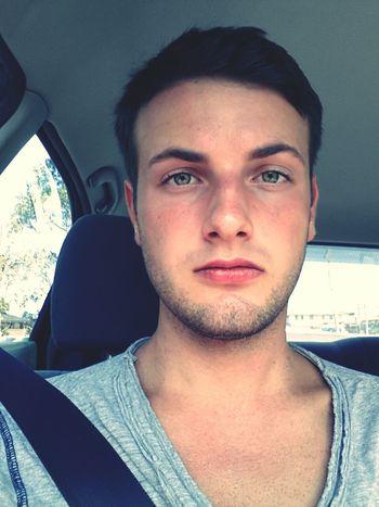 Selfie Car Bored Waiting