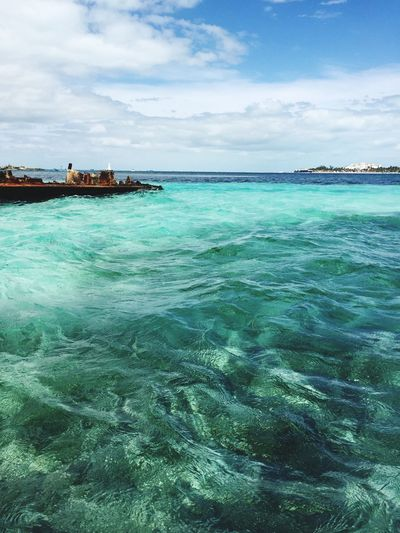 Island Isla Mujeres Mexico Clear Water