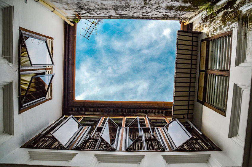 The Week On EyeEm Looking Up Streets Of Penang Penang Malaysia Street Photography Building And Sky Apartment Building Apartment Complex Square Windows Travel Destinations Cityscape EyeEm Ready   Stories From The City
