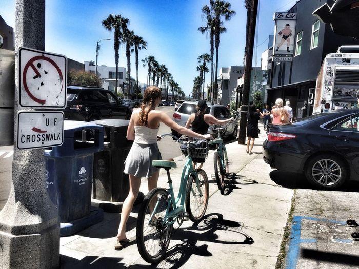 Living in Santa Monica Enjoying Life