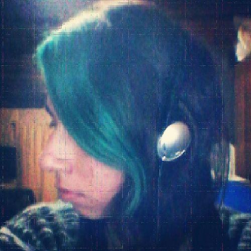 Instalike Verde PeloVerde NewLook Hairgreenlove HairGreen Pelonuevo Colores Colors Ilovemusic
