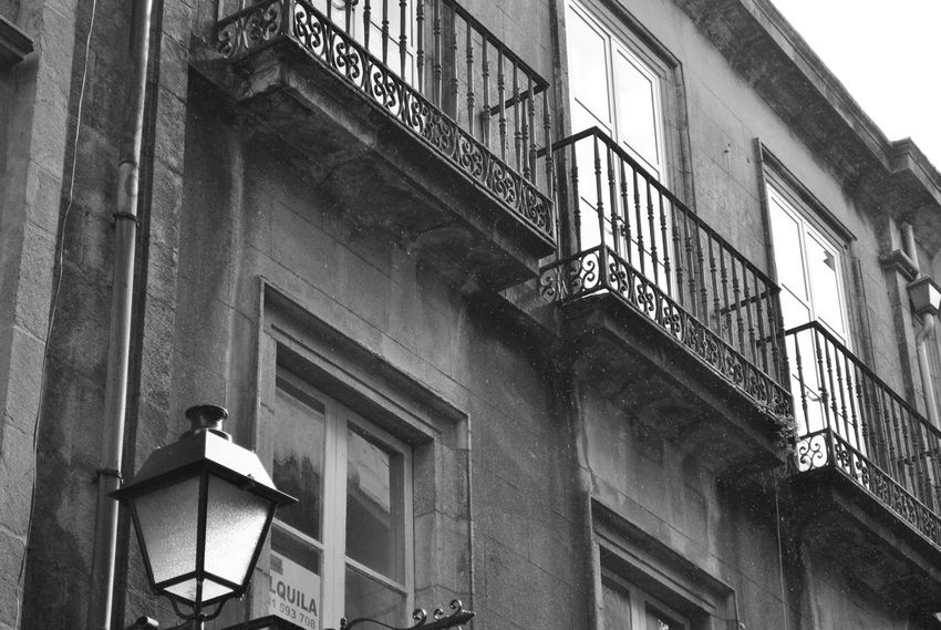 the Zafon memory SPAIN Architecture Balconies Building Exterior Built Structure España Finestre Lampione Low Angle View No People Outdoors Window