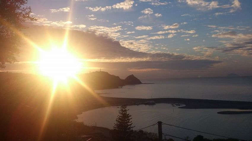 Capo D'Orlando Sicily Sicilia Sunset #tramonto