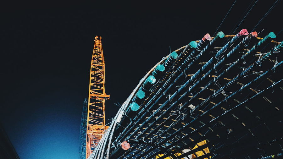 Night Arts Culture And Entertainment Low Angle View Rollercoaster Amusement Park Nightlife Outdoors No People Illuminated Sky Architecture Popular Music Concert EyeEm Phillipines EyeEm Vison Tarlac, Philippines EyeEm Tarlac Cityscape Architecture Massive Structures