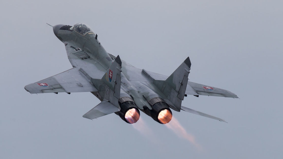Afterburner Air Force Aircrafts Airshow Aviation Display Dynamic Fulcrum MiG29 Military Photography Poland Radom Show