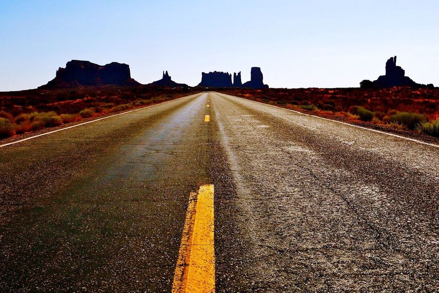 Monument Valley Road The Way Forward USA
