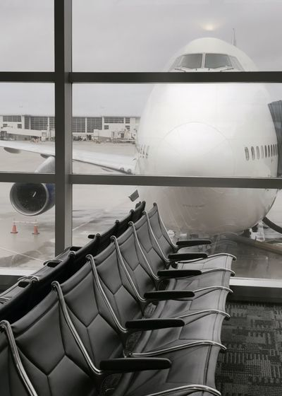 Big planes looking in windows. Airplane 747 Airport Travel Transportation Air Vehicle Sky Airport Runway Commercial Airplane Day No People Aerospace Industry Outdoors Peeking Nosy Lounge Dtw