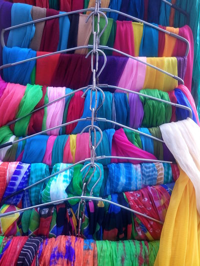 Backgrounds Bazaar Close-up Day Full Frame Hanging Large Group Of Objects Market Market Stall Multi Colored No People Outdoors Retail  Textile Variation