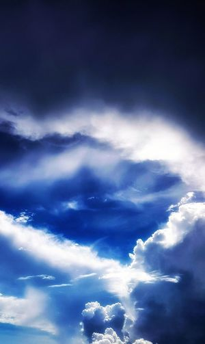 Eye In the sky Blue Sky Only Backgrounds Cloudscape Sky Cloud - Sky Heaven