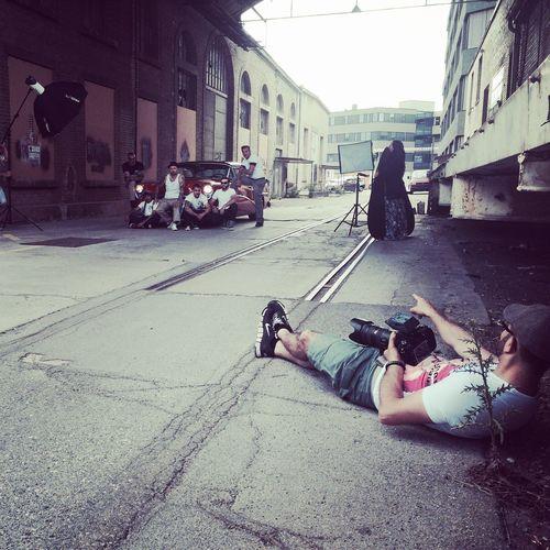 Behind The Scene Shooting