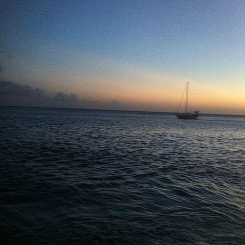 Day10 Beach Julyphotochallenge Enjoying The Sunset