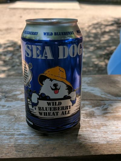 Its a Maine thing... No People Day Close-up Beer - Alcohol Beer Porn Beer Anyone?  Blueberry SeaDog Can Wine Not