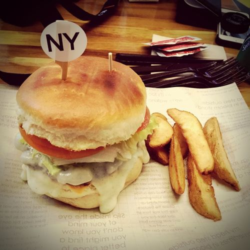 New York Burger Farmers Burger